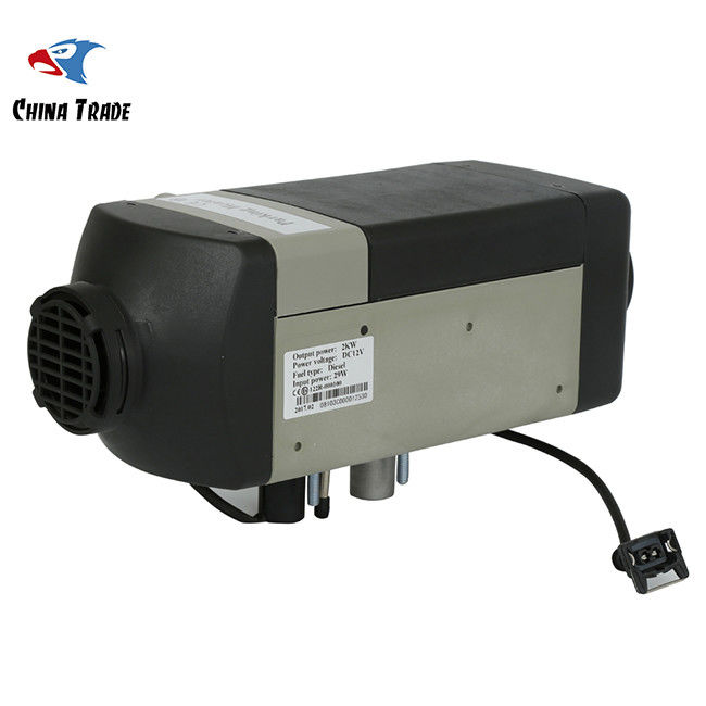 Gray Gas Space Car Parking Heater , Diesel Fuel Heater
