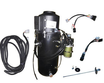 20 KW 12V Black Oil Filled Diesel Bus Heater With Atomizer System