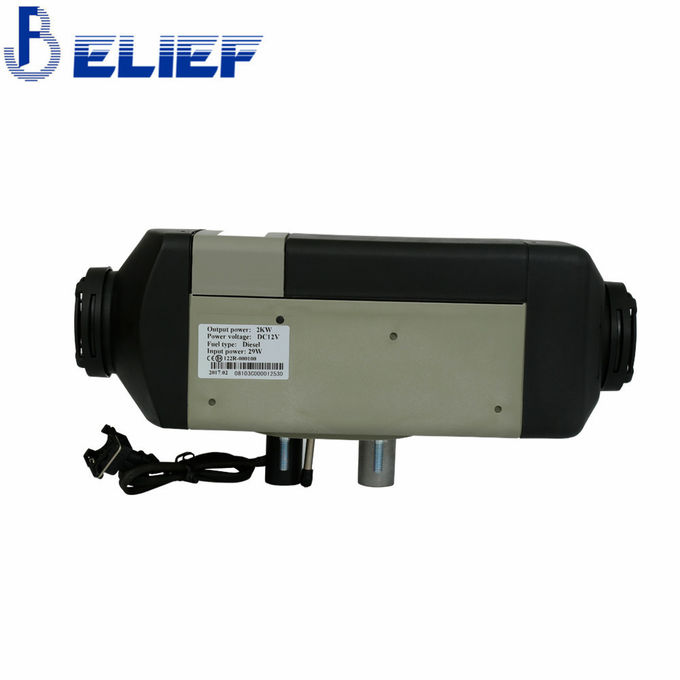 Nice Quality Belief 2000W 12V 24V Diesel Gasoline Car Boat Parking Heater With Rotary Digital Control Switch